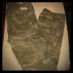 🌻5 For $50🌻  Abercrombie Kids Army Cargo Pants
